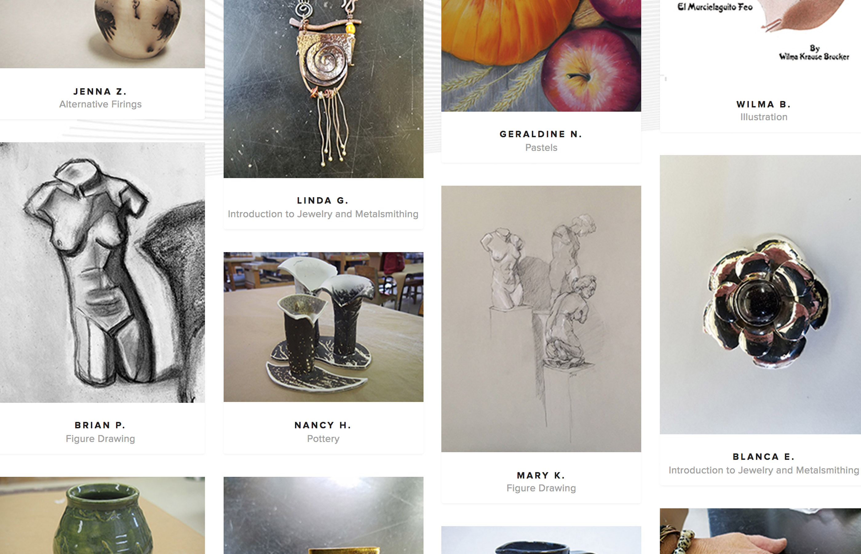 Online Student Gallery  Image